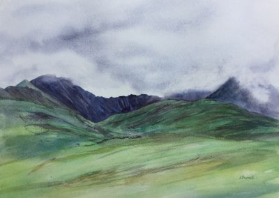Cloud on the Snowdon Horseshoe - SOLD