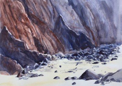 Cliffs, Freshwater West