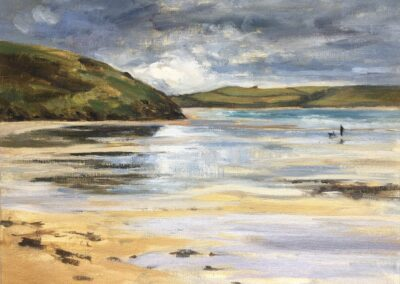 Low Tide Reflections, Daymer Bay SOLD