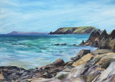 Incoming Tide, Marloes Sands